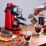 เครื่องต้มกาแฟ เครื่องทำกาแฟกึ่งอัตโนมติ สตรีมฟองนมได้ เครื่องทำกาแฟขนาดเล็ก
