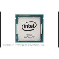 Intel i7-4770K 散裝二手 CPU 一顆 LGA1150