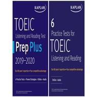 Asia Books หนังสือภาษาอังกฤษ KAPLAN TOEIC PREP SET: 2 BOOKS + ONLINE จัดส่งฟรี