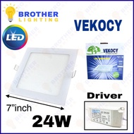 """Vekocy 24W 7"""" LED Downlight Celling Light High Quality Warm White"""
