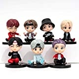MC TTL 7PCS BTS cake toppers Characters set of