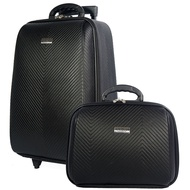 Lyvali.bags WHEAL กระเป๋าเดินทางล้อลาก ระบบรหัสล๊อค เซ็ทคู่ ขนาด 18 นิ้ว/14 นิ้ว Luxury Classic Code F7841-18