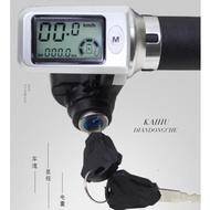 電動車36V48V加速帶電門鎖液晶屏帶電量顯示速度碼表里程調速轉把 韓語空間