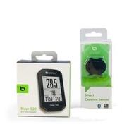 Bryton Rider 320C「自行車碼表+踏頻」ANT+ 藍芽 全球衛星地圖 智慧手機通知 馬錶