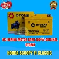 Aki Motor Honda Scoopy FI CLASSIC GTZ5S OTOBAT Accu Kering / aki kering Scoopy fi Classic