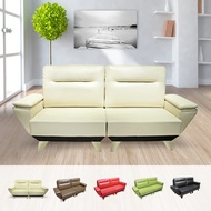 +mofa獨立筒沙發大氣典雅款-雙人座(扶手)