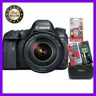 Canon Camera EOS 6D Mark II Kit Lens 24-105 F/4L IS II (ประกัน EC-Mall) เลือก 1 ชิ้น อุปกรณ์ถ่ายภาพ กล้อง Battery ถ่าน Filters สายคล้องกล้อง Flash แบตเตอรี่ ซูม แฟลช ขาตั้ง ปรับแสง เก็บข้อมูล Memory card เลนส์ ฟิลเตอร์ Filters Flash กระเป๋า ฟิล์ม เดินทาง