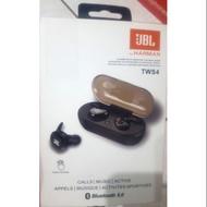 JBL TWS4 藍牙耳機5.0 完美音質  無線 雙耳 藍牙5.0 高音質 藍芽雙耳無線運動耳機  全新