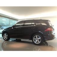 自售 2013年 台灣總代理 BENZ ML350 3.5 黑 汽油 5門休旅車