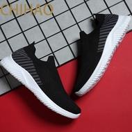รองเท้าผ้าใบสีดำ รองเท้าวิ่งชาย รองเท้าผ้าใบผู้ชาย รองเท้าคัชชู รองเท้าแฟชั่นญ ผู้ชายรองเท้ากีฬาแฟชั่นรองเท้าไม่มีส้นสันทนาการบินทอผ้า