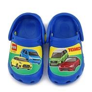 【童鞋城堡】不對稱設計花園鞋 Tomica多美小汽車(TM1825-藍)