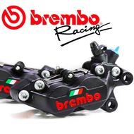BREMBO 鑄造對四卡鉗 義大利旗國旗版 黑底紅字  左卡/右卡 豐年利公司貨