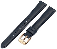 (Fossil) Fossil Women s S141090 Navy Leather Watch Strap-S141090