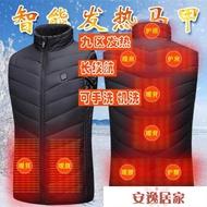 電熱馬甲男款冬季立領全身發熱衣服保暖usb充電智慧男士加熱背心送人禮物送父親 時尚