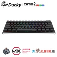Ducky One 2 Mini RGB 機械式鍵盤 茶軸 英文 RGB 黑色 PBT二色