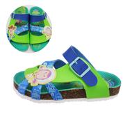 【兒童拖鞋】【台灣製造】【玩具總動員可愛勃肯拖】TYJS97006