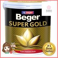 **คุณภาพดี** Beger สีน้ำอะครีลิกสีทองคำ (เฉดสีทองคำสวิส) A/C 919 สีทอง **สินค้าคุณภาพราคาเหมาะสม**