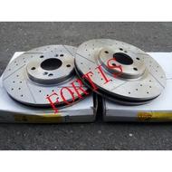FORTIS 08- 盤面294mm 前煞車盤.前碟盤(一組2片裝)