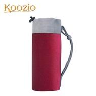 Koozio經典水瓶 600ml專用保護袋-紅