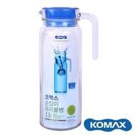 韓國 KOMAX 玻璃冷水壺 冷水壺 水壺 1100ml