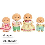 Sylvanian Families doll toy poodle family