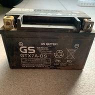 【雜貨店】二手的 GS統力電池 YUASA湯淺電池 機車電池 GTX7A-BS YTX5L-BS