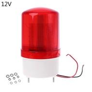 220V/12V/24V LED ไฟสัญญาณไฟสัญญาณเตือนสัญญาณ Buzzer หมุน Strobe Flash ไซเรนฉุกเฉินเสียงความสว่าง Hummer