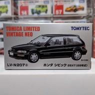 現貨 TOMYTEC LV-N207a 本田 HONDA CIVIC 25XT 黑色 89年式