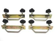 Rhino-Rack USA S280 U-Bolt Fitting Kit Attaches Rhino Mesh Baskets/Trays To Rhino Aero/Thule Aero/OE Bar U-Bolt Fitting Kit