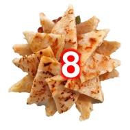 8片~蔣哥 泰式月亮蝦餅 月亮蝦餅 8片/包 1包
