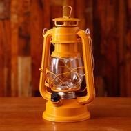 中型復古LED電池式露營燈BOL001-YE - 黃色