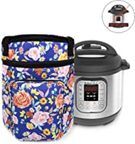Helpful Household Carrying Bag Compatible with Instant Pot - for 6 Quart Instapot - Travel Tote Bag - Storage Cover Carrier - Insta Pot and Pressure Cooker Accessories - Instant-Pot Accessory 6 qt