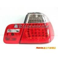 ※ 鑫立汽車精品 ※ E46 M3 紅黑款 LED 尾燈 車尾燈