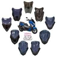 YAMAHA NMAX 155 VISOR WINDSHIELD ANTI PECAH WINDSHIELD MHR RACING RAYBAN V.FLOW CLEAR SMOKE 2 TONE OCITO IMPORT