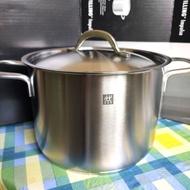 雙人牌 不鏽鋼 20CM 雙耳深湯鍋 全鍋不鏽鋼 20cm不鏽鋼鍋蓋