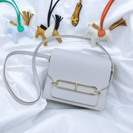 愛馬仕Hermes Roulis mini珍珠灰金釦  2021 05💜