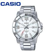 Casio Standard นาฬิกาข้อมือสุภาพบุรุษ สายสแตนเลส รุ่น MTP-1239D-7ADF - สีน้ำเงิน