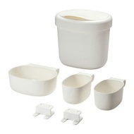 IKEA ÖNSKLIG  尿布更換桌儲物籃 4件組 含掛勾 垃圾桶 置物盒 儲物盒