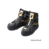 《SHIMANO》LIMITED PRO FS-175R黑金色短統防滑釘鞋 中壢鴻海釣具館 GORE-TEX 短筒防滑鞋