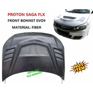 SAGA FLX FL SV FRONT BONNET EVO9 B8201 EVO 9 HOOD ENGINE COVER BUMPER LAMP LIGHT HEAD SIDE SIGNAL SKIRT LIP BODYKIT