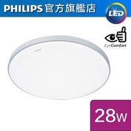 飛利浦 - CL819 AIO 28W LED天花燈 (銀色) (牆壁開關 / 可加配智能遙控器) (可調色溫2700K-6500K)