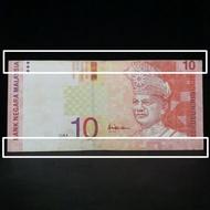 Malaysia RM10 10 Ringgit 10th Series Shift Cut error banknote BV7891987