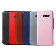 LG G8X ThinQ K51s K61 皮革保護殼牛皮仿真皮紋單色素色背蓋油蠟感保護套手機殼手機套