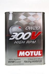 MOTUL 300V HIGH RPM 0W20 雙酯 全合成機油 2L