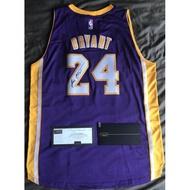 Kobe Bryant 紫金版簽名球衣 客場 NBA傳奇球星 Panini原廠盒裝 非林書豪 JORDAN球員卡鞋 公仔