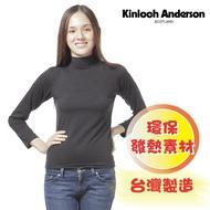 【金安德森】女版高領發熱衣(黑)