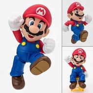 【樂GO】BANDAI SHF 超級瑪利歐 馬力歐 超級瑪莉 Super Mario 新包裝 可動 景品 原廠正版