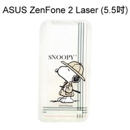 SNOOPY 史努比透明軟殼 [帽子] ASUS ZenFone 2 Laser ZE550KL (5.5吋)【台灣正版授權】