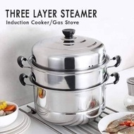 Quality Multipurpose Food Steamer/Siiopao Steamer/Siomai Steamer-Best for Business Use