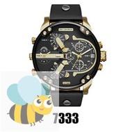 Diesel Luxury Men's Leather Strap Watch (DZ7314)